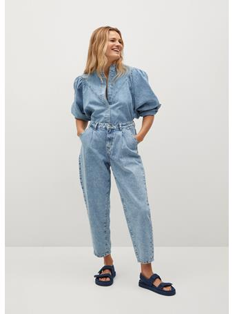 MANGO - Medium Denim Shirt MEDIUM BLUE