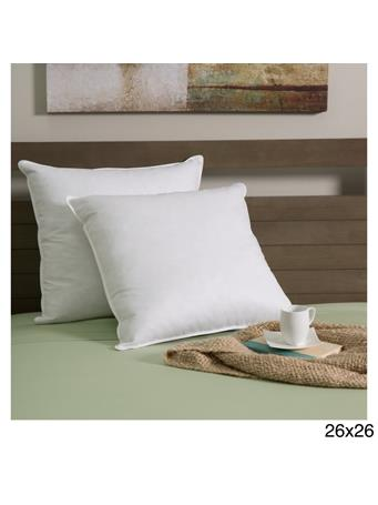 DOWN INC. - White Goose Down and Feather Decor Pillow Insert WHITE
