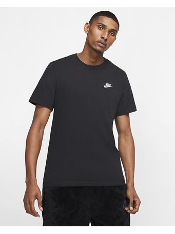 NIKE - Men's Nike Sportswear Club Tee BLACK