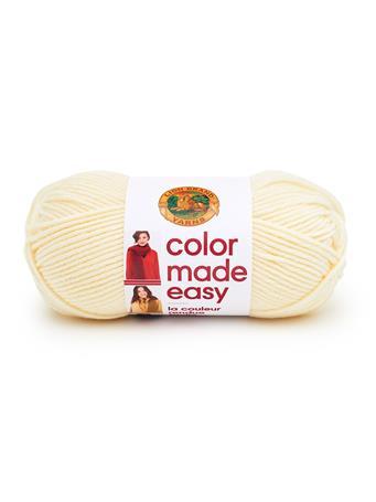 LION BRAND - Color Made Easy Yarn  098-ALABASTER