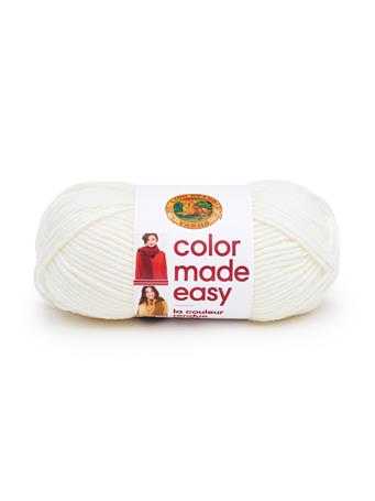 LION BRAND - Color Made Easy Yarn  {#color}