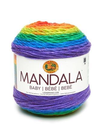 LION BRAND - Mandala Baby Yarn  RAINBOW-FALLS