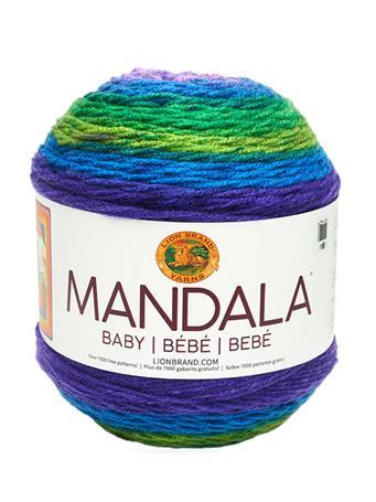 LION BRAND - Mandala Baby Yarn  MERMAID COVE