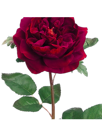 FAUX FLOWER - English Rose Spray No-Color
