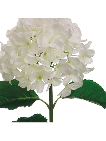 "ALL STATE FLORAL - 31"" Hydrangea Spray WHITE"