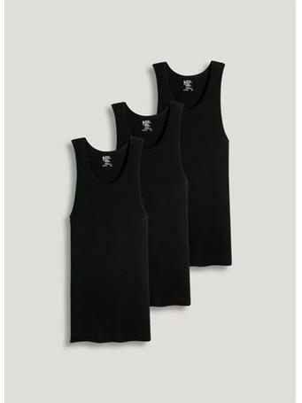 JOCKEY - 6 Pack A-Shirt  BLACK