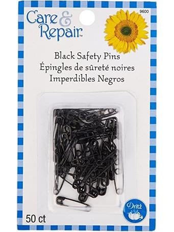 CARE & REPAIR - Black Safety Pins {#color}