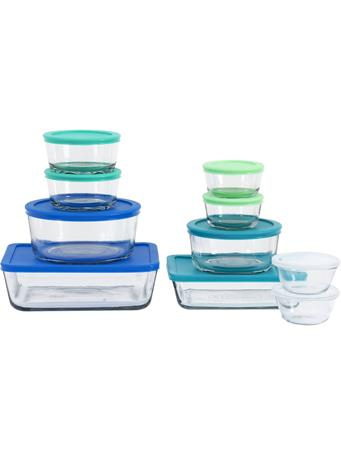 ANCHOR HOCKING  - 20 Piece Glass Food Storage Set with Lids {#color}