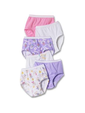 HANES - Toddler Girl Briefs Assorted 6 Pack No Color