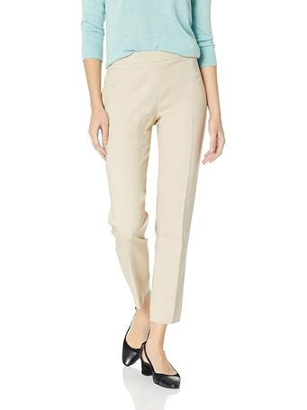 CHAUS - Courtney Side Zip Ankle Pant IVORY