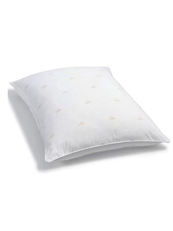 RALPH LAUREN - Firm Density Logo Pillow WHITE