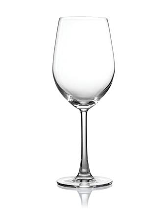 PURE & SIMPLE - Set of 4 Crystal Chardonnay Glasses - 345ML No-Color