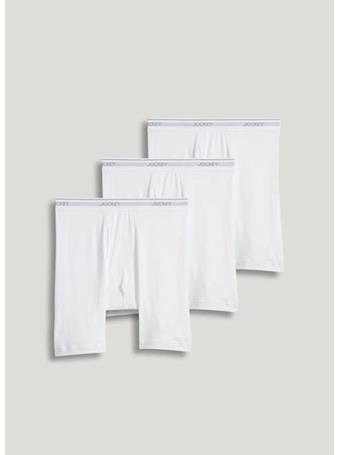 JOCKEY - 4 Pack Staycool Brief -WHITE