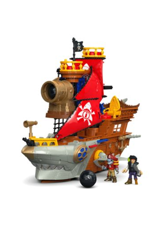 IMAGINEXT? - Shark Bite Pirate Ship (3-8Y) No Color