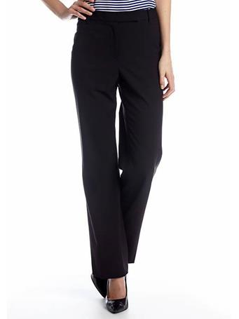 CHAUS - Emma Straight Leg Pant  BLACK
