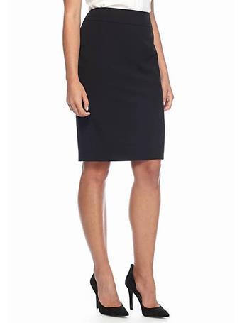 CHAUS - Elizabeth Pencil Skirt  BLACK
