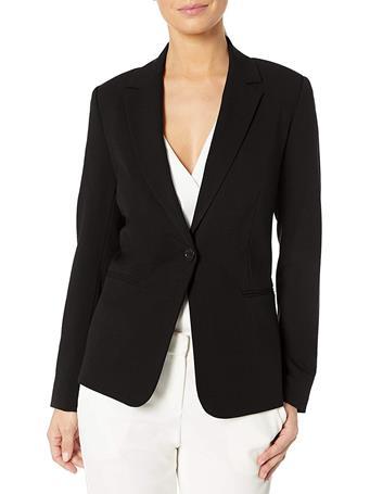 CHAUS - Sophia One-Button Blazer  BLACK