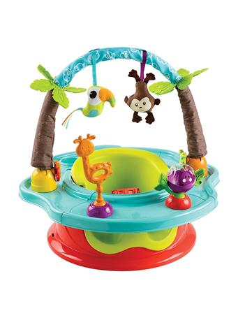 SUMMER INFANT - 3 Stage Deluxe Superseat, Wild Safari No-Color