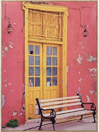 Havana Wall Art YELLOW