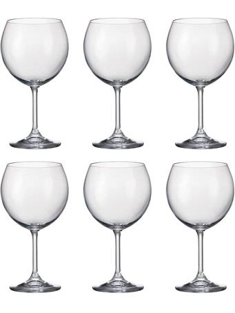 CIRCLEWARE - Concerto 6-Piece Set - 15.5OZ Red Wine Glasses No-Color