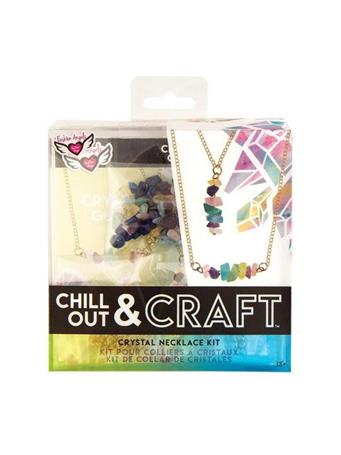 FASHION ANGELS - Chill Out And Craft Kit - Crystal Necklace 12266WATERCOLOR