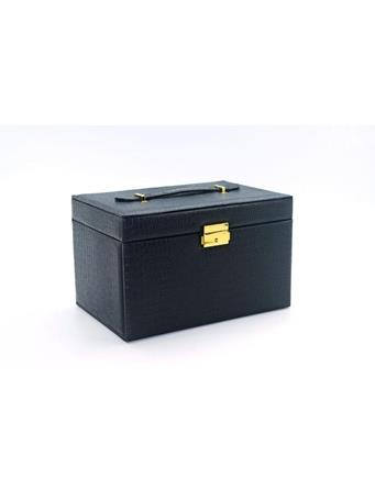 Jewelry Box In Python Skin BLACK