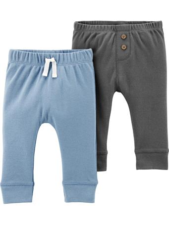 CARTER'S - 2 Pack Pull-On Comfy Pants  No Color