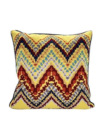 SIGNATURE DESIGN - Soho Embroidered Decorative Pillow YELLOW