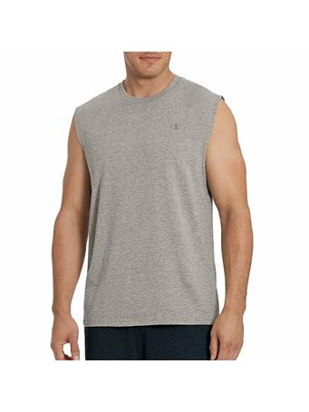 CHAMPION - Classic Graphic Muscle Tee OXFORD-GREY