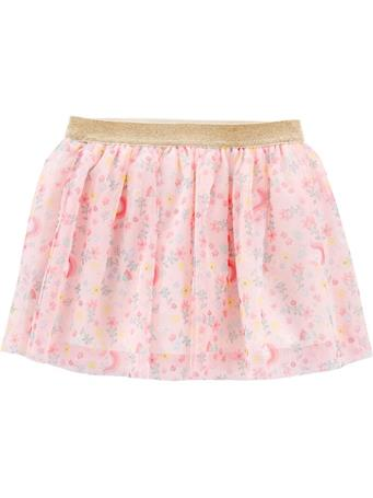 CARTER'S - Glitter Floral Unicorn Skirt, Toddler Girl {#color}