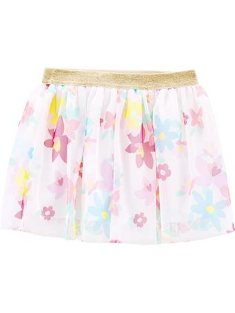 CARTER'S - Glitter Floral Tutu Skirt, Toddler Girl {#color}