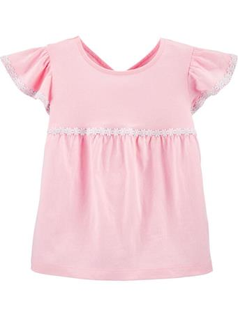 CARTER'S - Embroidered Jersey Top, Toddler Girl No-Color