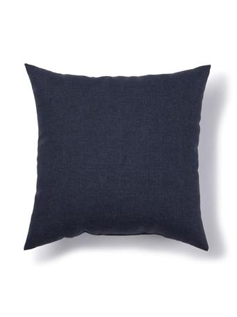 BRENTWOOD ORIGINALS - Solid Indoor/Outdoor Decorative Pillow  011-NAVY PEACOAT