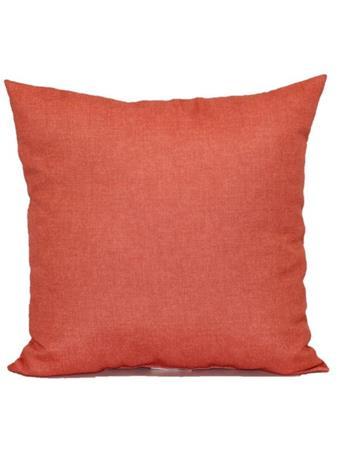 BRENTWOOD ORIGINALS - Solid Indoor/Outdoor Decorative Pillow  119-SALMON