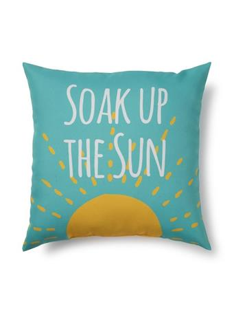 BRENTWOOD ORIGINALS - Soak Up The Sun Indoor/Outdoor Decorative Pillow  129-SUN