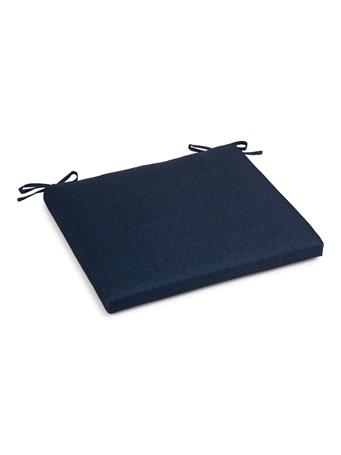 Solid Seat Cushion Inside/ Outside NAVY-PEACOAT