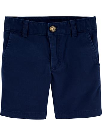 CARTER'S - Flat Front Short  No Color