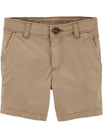 CARTER'S - Flat Front Short  No-Color