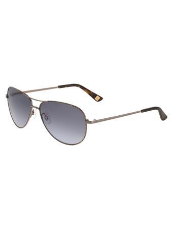 ANNE KLEIN Aviator Frame Sunglasses {#color}