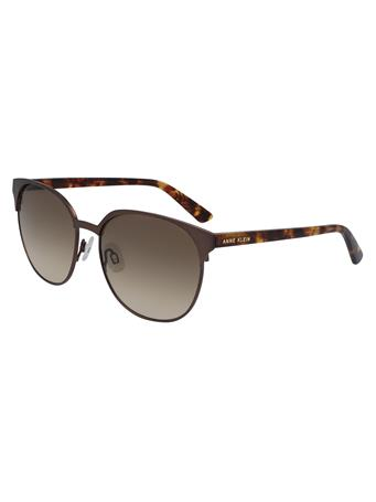 ANNE KLEIN Round Frame Sunglasses {#color}