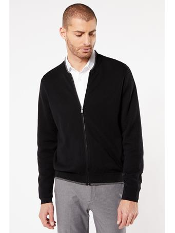DOCKERS - T3 Bomber Sweater BLACK