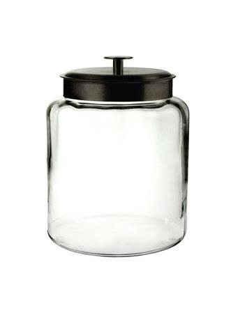 ANCHOR HOCKING - 1.5 Gal Montana Jar With Metal Cover CRYSTAL