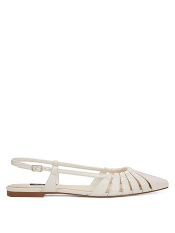 NINEWEST - Betsy Sandal with Strap Back CREAM