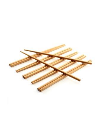 NORPRO - Bamboo Chopstick Pair - Set of 6 NOVELTY