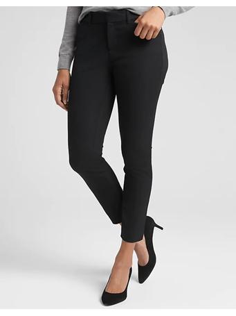 GAP - Skinny Ankle Pants in Bi-Stretch -TRUE-BLACK