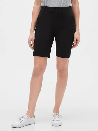 "GAP - 9"" Bermuda Shorts 02 TRUE BLACK"