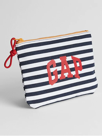 GAP - Logo Pouch 00-BLUE-WHITE-STRIPE