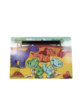 DMD - Dino Kids Lap Tray with Tablet Holder MULTI