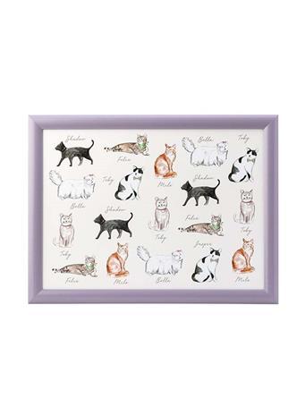 DMD - Pastel Cats Lap Tray {#color}