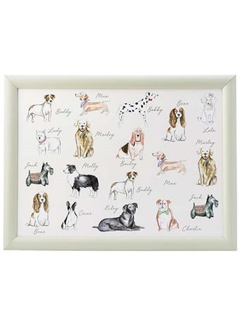 DMD - Pastel Dogs Lap Tray {#color}